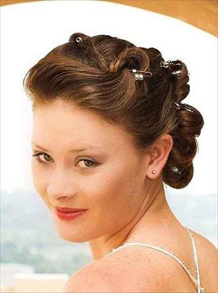 Awesome Bun Wedding Hairstyle