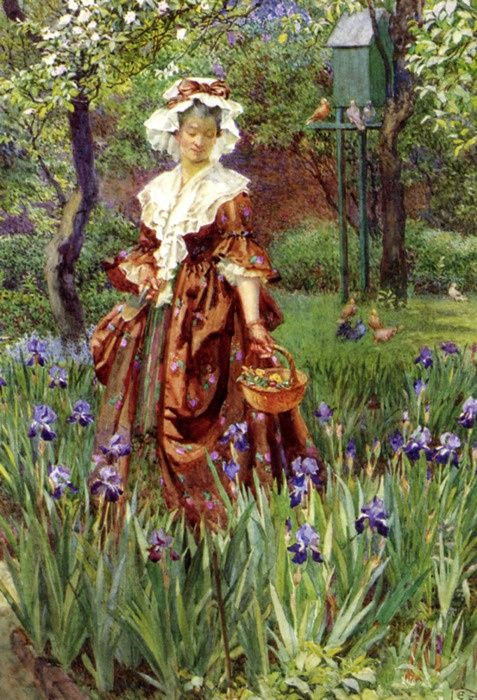 Madame Placid by Eleanor Fortescue-Brickdale (1871 - 1945)