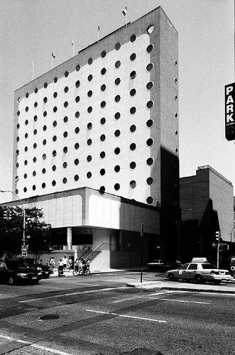 Maritime Hotel (former National Maritime Union), New York  by Albert C. Ledner in 1966