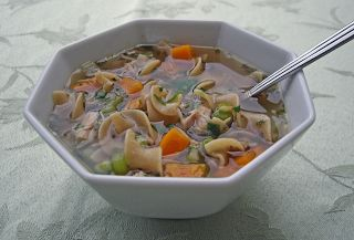 The Art of Cooking Real Food: Good Ol' Chicken Noodle Soup