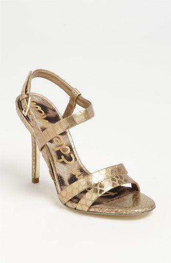 Shine: Sam Edelman 'Abbott' Sandal #BP #Nordstrom #Prom