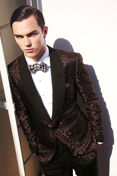Nick Hoult.. Fashion man.