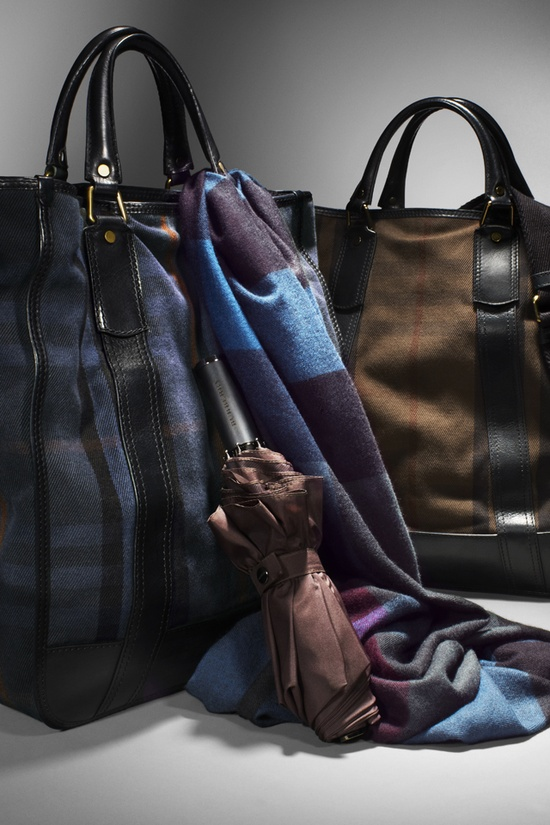 Burberry Autumn/Winter 2012 men's accessories