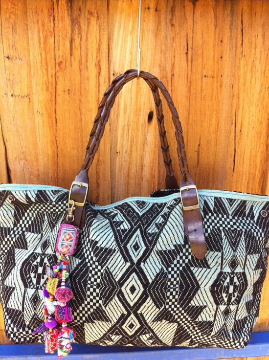 Vintage Laos Fabric Bag