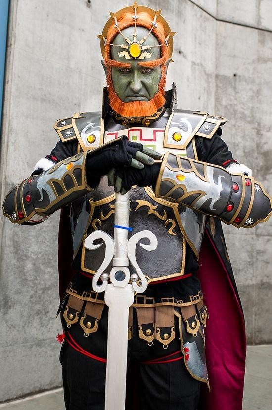 Ganondorf, Legend of Zelda cosplay.