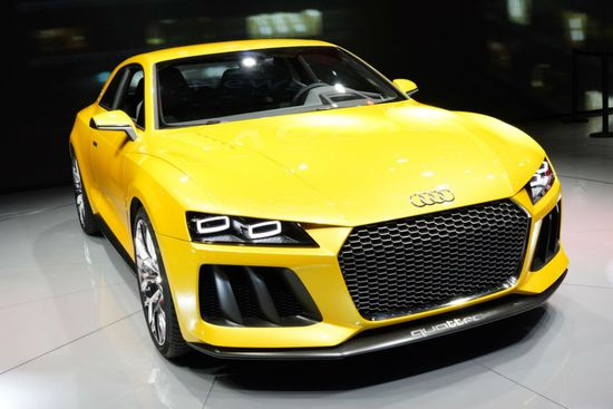 The 'Mean' 2013 Audi Sport Quattro Concept! Hit the image to watch Audi's promo video!