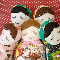 Sew your very own gorgeous Russian Doll