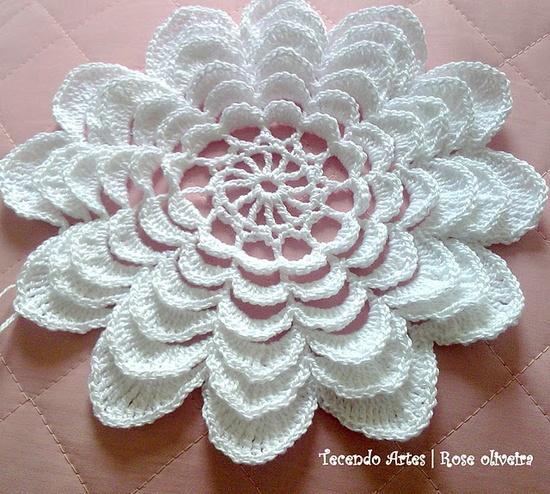 Beautiful crochet flower      ? ? ... #inspiration_crochet #diy GB
