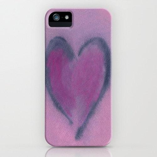 #iPhone Love Case Watercolor Heart   by BrazenDesignStudio