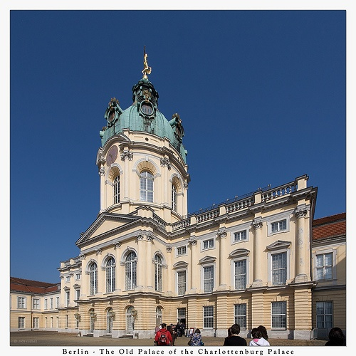 The Old Palace of the Charlottenburg