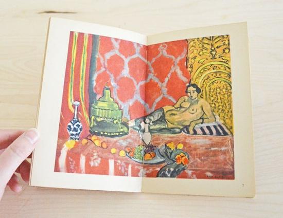 SUMMER SALE Vintage Henri Matisse Art Book of Prints by mothrasue, $15.00