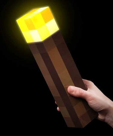 Love this Wall Torch by Minecraft by ThinkGeek on #zulily! #zulilyfinds