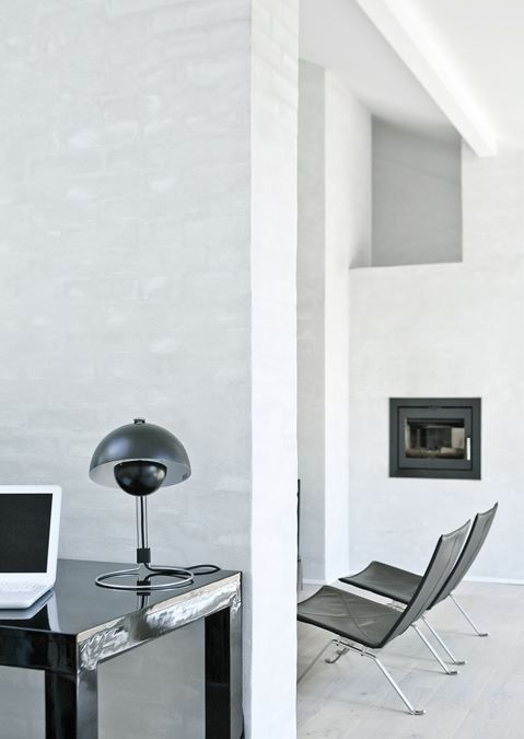 #interior design #minimalism #architecture #white interiors #style #inspiration - Fredensborg house in Copenhagen- Photo credits Jonas Bjerre-Poulsen