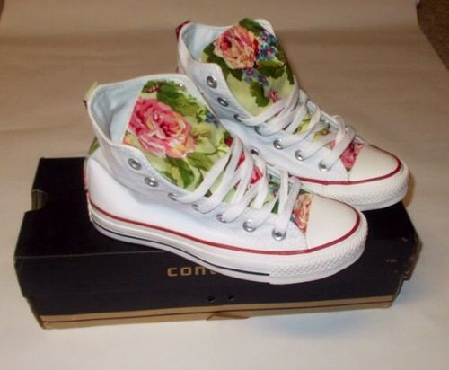 #converse #flower #fashion #girls #shoes