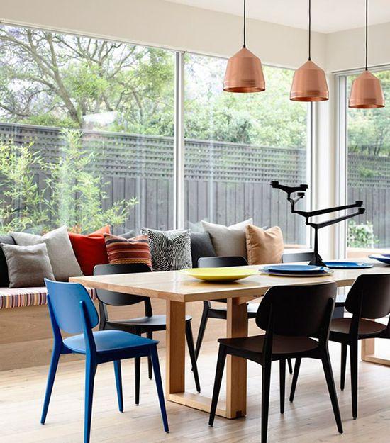 Leve mais charme para sua casa. Veja: www.casadevalenti... #decor #decoracao #color #cor #dining  #detalhes #details #casadevalentina