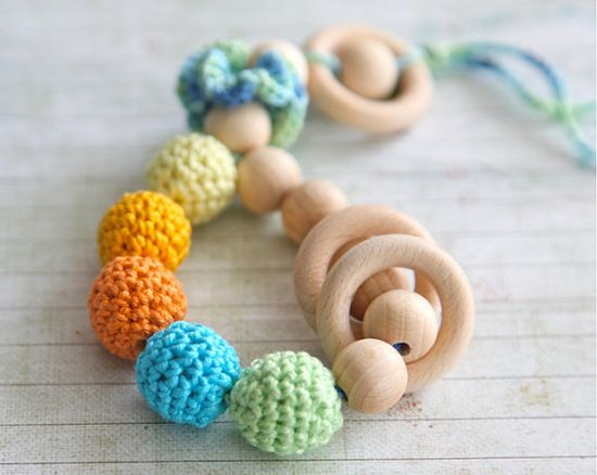 teething toy on Etsy