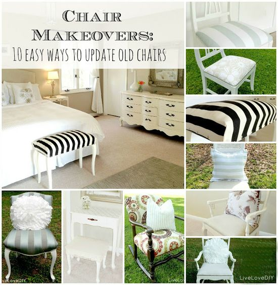 How To Reupholster an Old Chair: 10 Great Ideas!