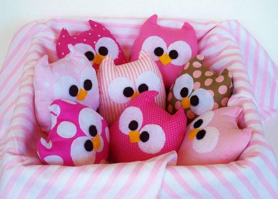 stuffed owl toy . . . gift?