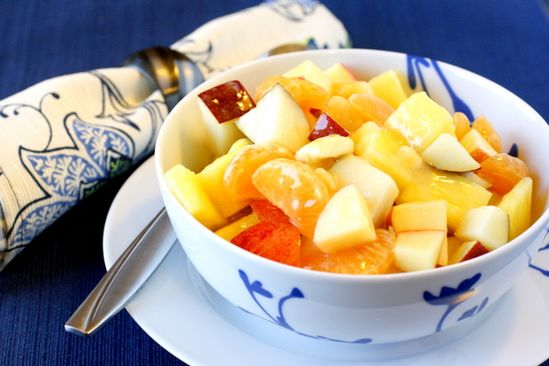 """""""Winter"""" fruit salad - I need to have something healthy!"""