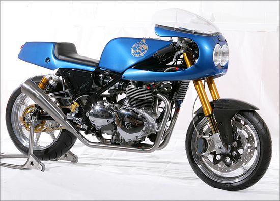 HydeHarrier - Pipeburn - Purveyors of Classic Motorcycles, Cafe Racers & Custom motorbikes