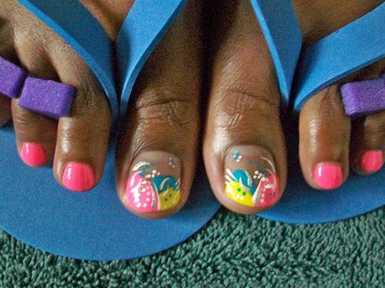 Pretty feet - Nail Art Gallery by NAILS Magazine