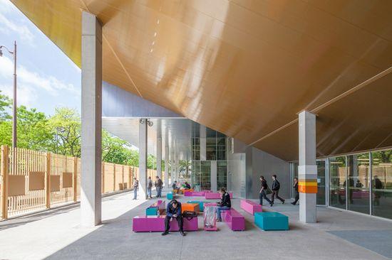 gaëlle péneau architectes associés (GPAA) redevelops clignancourt centre at paris sorbonne university