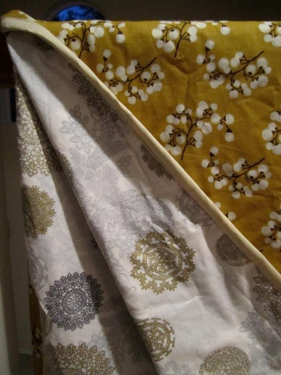 Big Unisex Cotton Baby Blanket /Quilt one of a by happykristen, $50.00