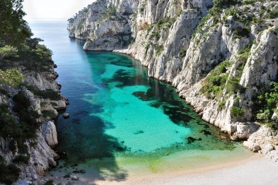 One of the most beautiful places I've ever been...Calanque d'En Vau, Marseille, France