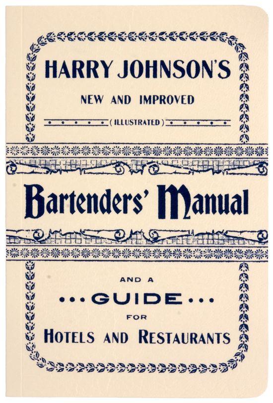 Bartender's Manual
