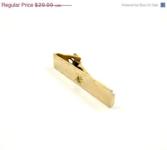 HALF PRICE SALE Vintage Tie Clip  Free Shipping  by CuffandCollar, $15.00