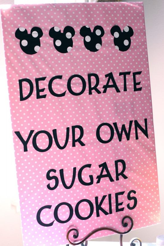 Decorate Your OwN. Not Minnie mouse but I like the idea