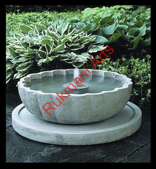 Fountains Garden Interior Marble Sandstone Natural Stones