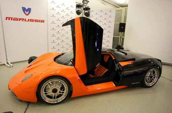 Russia's First World-Class Luxury Sports Car – 'Marussia'