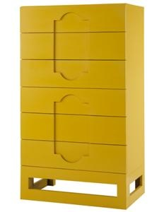 Casablanca 6 Drawer Chest: I've been needing a chest of drawers for way too long. This would work perfectly with the color scheme in my bedroom. I love the shape!