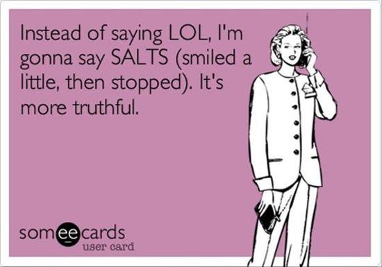 Ha ha ha so funny.