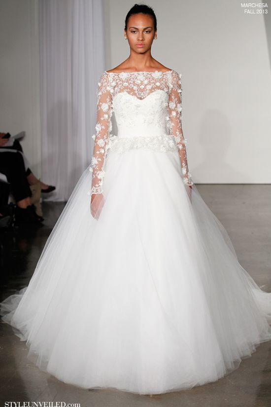 Marchesa Fall 2013 Wedding Dress Collection
