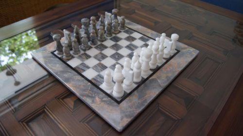 Marble Chess Set Premium Quality Handmade Marble Board Brand New
