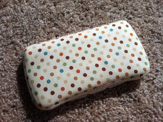 Polka Dot Boutique Style Travel Baby Wipe by CrystalCreations108, $8.00
