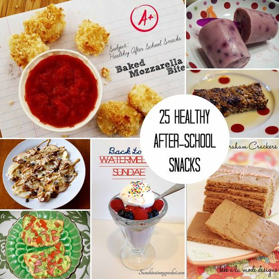 Carissa Miss: 25 healthy back to school snack ideas