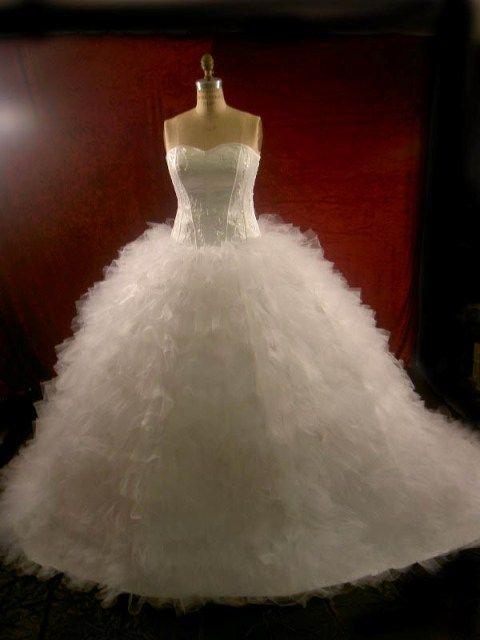 poofy wedding dresses