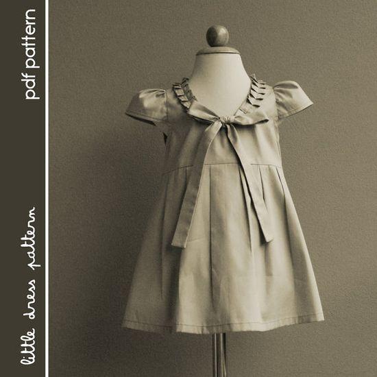 Stella Dress PDF Pattern