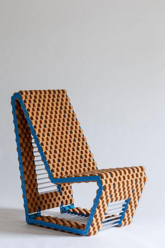 Custom Cork Chairs by Quartertwenty