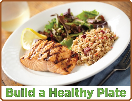 10 tips for healthy meals. #MyPlate