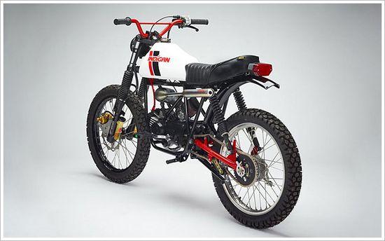 Indigan's 'Diablo'Moped (via Pipeburn)