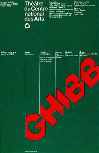 Canadian Graphic Design  by Gottschalk+Ash,  1972.