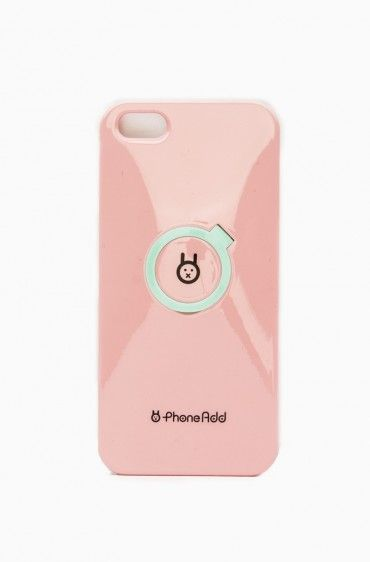Standing iPhone 5 Case in Pink