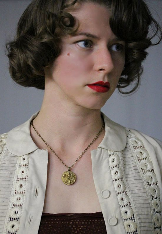 Golden Bamboo Necklace by ChatterBlossom #antique #jewelry