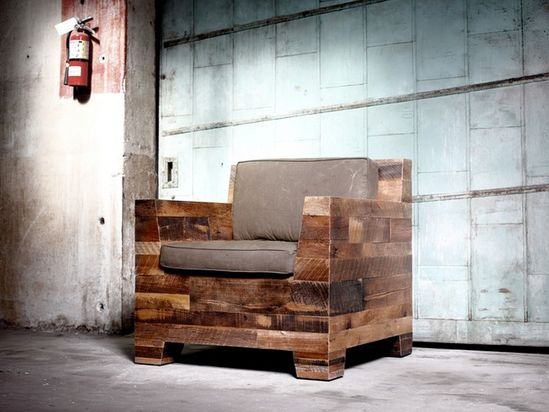 Los Angeles-based District Millworks creates custom furniture using reclaimed wood and well-worn metals.