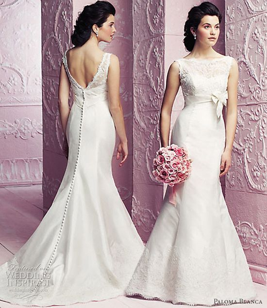 Paloma Blanca wedding dresses 2012