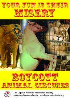 Boycott cruel circuses.